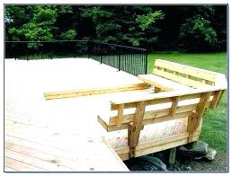 planter bench deck plans build wood benches ideas seating outdoor storage patio brackets deck bench with back plans seat wood storage for