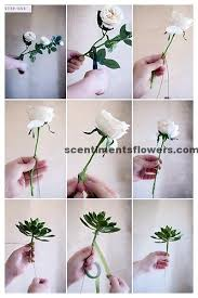 How To Make Paper Flower Bouquet Step By Step Steps How To Make Flower Arrangement Flower