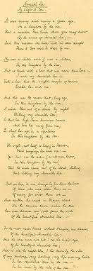 poem annabel lee essay edgar allen poes annabel lee essay example 932 words bartleby