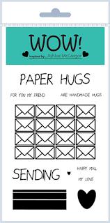 Paper Hugs (by Ashlee McGregor) - Clear Stamp Set (A6)