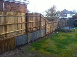 how to disguise tall fence