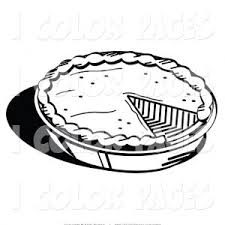 Small Picture Pie Coloring Pages To And Print Pie adult