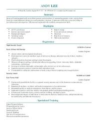 Hart Security Officer Sample Resume New Security Report Writing Template Incident Example Guard Tangledbeard