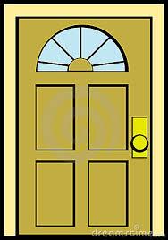 front door clipart. Marvelous Front Door Clipart Black And White Biezumd S