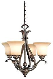 4 light chandelier quick view abstract crystal lighting in antique brass with cognac le glass p