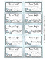 printable diaper raffle ticket template baby shower gender printable diaper raffle ticket template