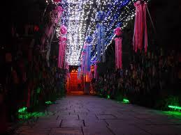 Kanji Loop Christmas Lights 2017 Kansai Culture July 2017