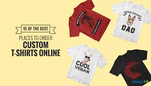 15 Of The Best Places To Order Custom T Shirts Online