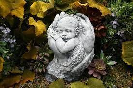 concrete outdoor garden statue