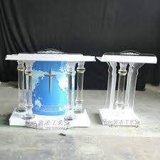 Acrylic furniture legs Bench Guiheyun Clear Acrylic Furniture Legs Crystal Stone Podium High Platform New Church Pulpit Designs Sandraortizco Guiheyun Clear Acrylic Furniture Legs Crystal Stone Podium High