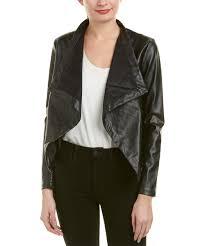 style 479143301 bb dakota bb dakota peppin jacket color black faux leather design