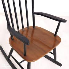 black wood rocking chair outdoor black wooden rocking chairs