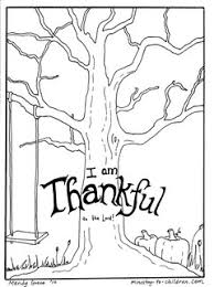 Gratitude Thanksgiving Coloring Pages Festival Collections