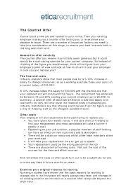 Job Proposal Letter Template Valid Job Counter Offer Letter Template ...