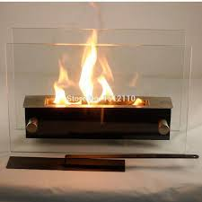 bio ethanol table top fireplace for indoor and outdoor use home decoration firplace kw2311