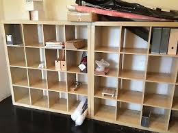 home office ikea expedit. IKEA EXPEDIT Wooden 4 X Square Cube Shelving Storage Units For Home/ Office Home Ikea Expedit