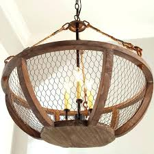 magnificent awesome en wire chandelier en wire pendant light awesome en wire basket chandelier small shades