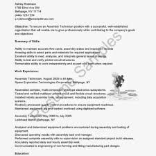 Electronic Technician Resume Sample Resume Cv Cover Letter throughout Resume  For Electronic Assembler