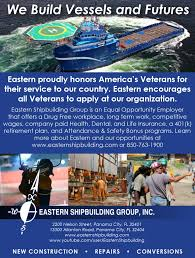 be one of the best at the best eastern shipbuilding group