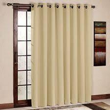 thermal blackout patio door curtain panel sliding insulated curtains beige patio door curtains r54