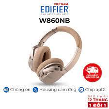 Tai nghe Bluetooth EDIFIER W860NB Chống ồn Chạy 25 giờ liên tục - Hàng  chính hãng - Tai nghe Bluetooth chụp tai Over-ear Nhà sản xuất Edifier