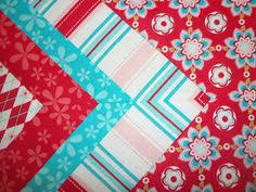 Saltwater Quilts: Tutorial: Quilt Border with Mitered Corner ... & The Gourmet Quilter teaches the easy way to add a mitered boarder to your… Adamdwight.com
