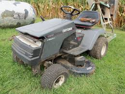 craftsman lt4000 12 5hp lawn tractor