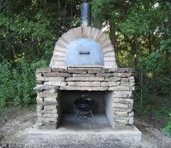 outdoor stone oven diy