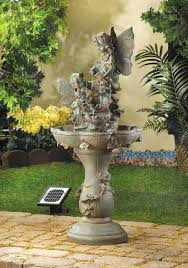 Garden Fountain Extraordinary Solar Powered Fountain Solar