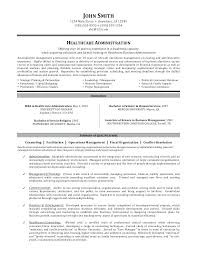 Sample Healthcare Resume Healthcare Administration Sample Resume 6