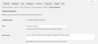 Paymentexpress Settings Woocommerce Docs