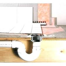how to install a shower drain in basement chief replacing plumbing sioux brass instructions plumbi