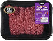 all natural extra lean ground beef
