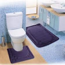 bath and toilet mats. 2pcs set thicken soft bathroom toilet mats anti-slip bath free shipping and e