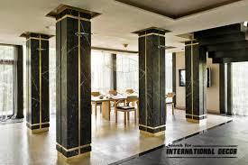 Decorative Columns Interior Design decorative columns stylish element in modern interior Columns 2