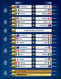Olympics Schedule : Tokyo 2020 Olympic ...