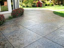 stained concrete patio gray. Concrete Patio Cost Stained Per Square Foot . Gray
