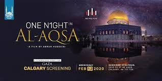 The site is a frequent flashpoint for violence, which unfolded again on friday night after thousands had gathered there to observe the. Local Scene One Night In Al Aqsa Calgary Movies