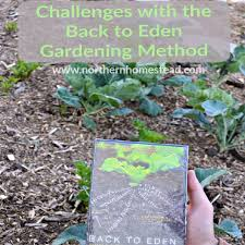 challenges with the back to eden method