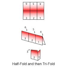 6 Panel Mini Brochures