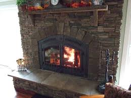 efficient fireplace gas
