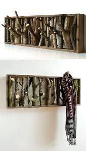 How To Build A Wall Mounted Coat Rack Impressive Diy Wall Coat Hooks How To Build A Wall Mounted Coat Rack With Shelf