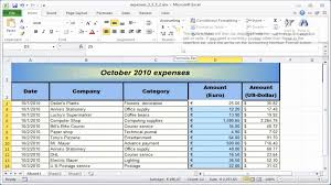 Sample Accounting Excel Spreadsheet Excel Spreadsheet Training Free Online Or Free Church Accounting