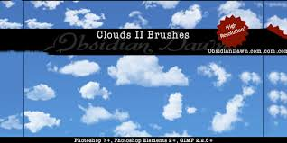 25 Cloud Photoshop Brushes Free Abr Asl Atn Format Download