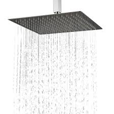 Duschkopf Regendusche Edelstahl Regenbrause Für Ihre Badezimmer 30cm Ultra Slim Design Kelelife