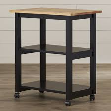 Kitchen Chopping Block Table August Grove De Soto Kitchen Cart With Butcher Block Top Reviews