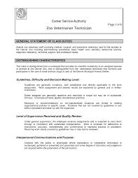 Vet Tech Resume Samples Vet Tech Resume Skills Resume for Veterinary Technician Vet Tech 24