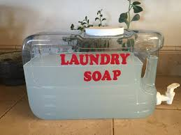 diy chemical free laundry detergent