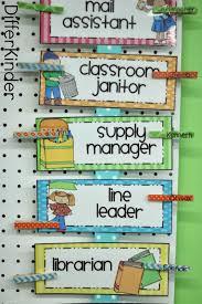 Classroom Helpers Chart Classroom Helpers Kindergarten Classroom Kindergarten