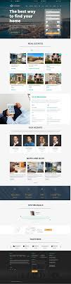 Real Estate Website Templates Enchanting Top 28 Real Estate Website Templates For Creative Producers